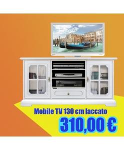 Mobile TV 130 cm laccato