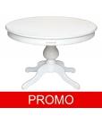Tavolo rotondo bianco elegante