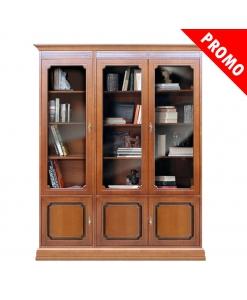 Libreria vetrina da ufficio studio o salotto, offerta
