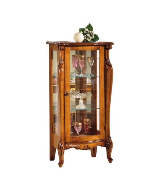 Vetrina bassa in stile classico da salotto, Art. E454-V