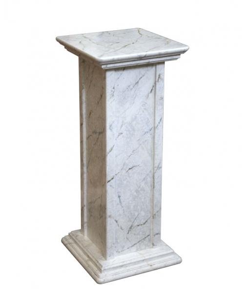 colonna portavasi in legno, colonna portavasi finitura in legno, mobili per l'ingresso, colonnina milleusi, colonna d'arredamento, mobili Arteferretto