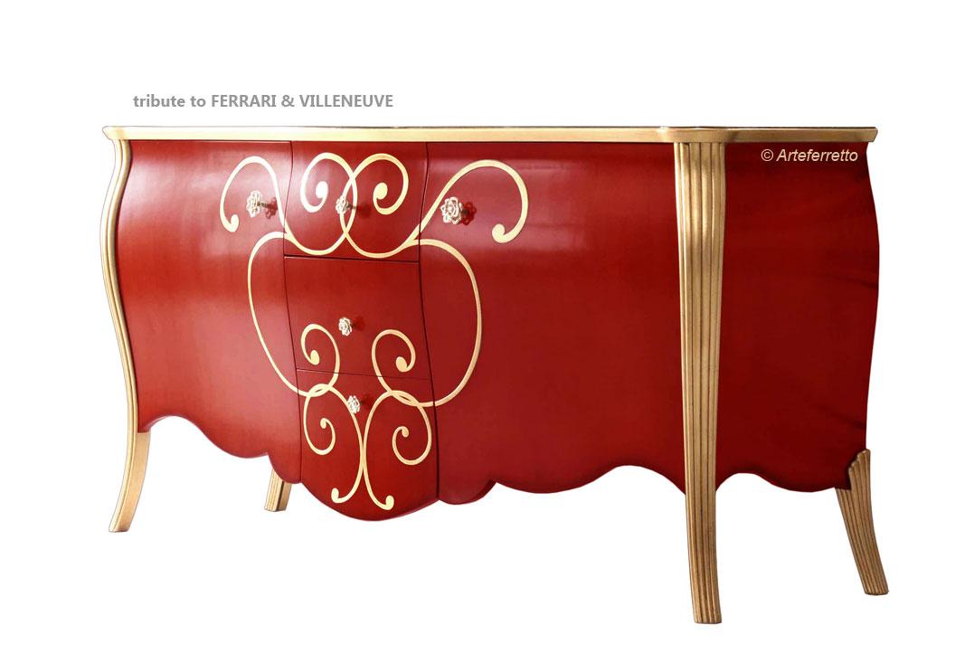 Credenza Da Cucina Rossa : Mobili per arredamento del salotto conforama