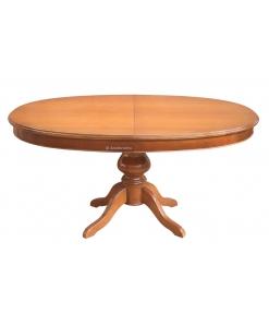 tavolo ovale, tavolo classico in legno 160 cm
