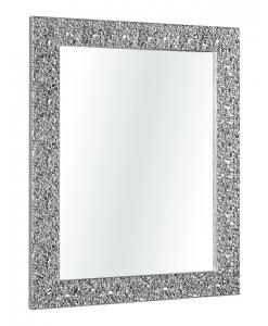 Specchiera foglia argento brillante, Arteferretto