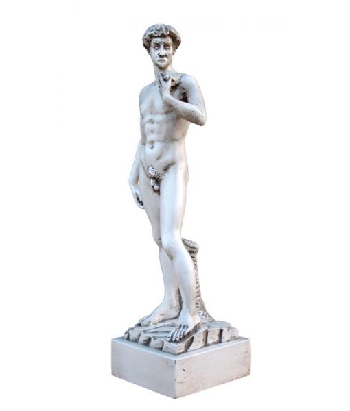 Scultura 45 cm ispirata al David, Arteferretto