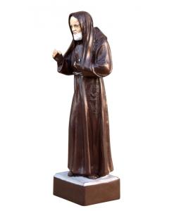 Scultura in legno di Padre Pio