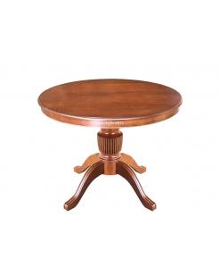Tavolo rotondo allungabile per sala da pranzo