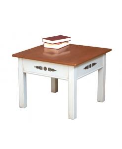 Tavolino bicolore classico
