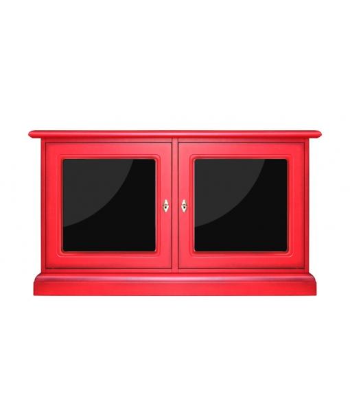 Mobile in legno con 2 ante in plex, Art.  3836-QPlex