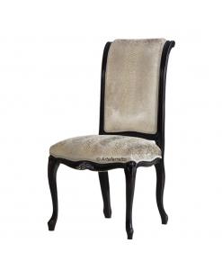Sedia in stile classico, sedia confortevole, sedia per sala da pranzo,