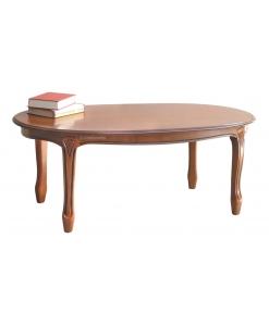 Tavolino ovale in stile classico