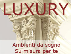 Esplora le gallerie dei nostri ambienti luxury
